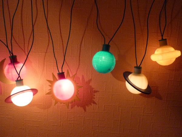 Электрогирлянда на новый год своими руками
